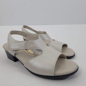 SAS tri comfort leather sling back sandals 6.5M
